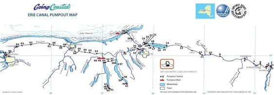 Map Of New York Waterways.Our Maps